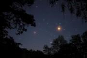 Mars und Saturn im Sternbild Skorpion - 14.Mai 2016