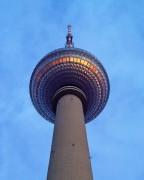 Berliner Fernsehturm am Abend - 31.August 2018 - Sigma SD9 Oldtimer-DSLR