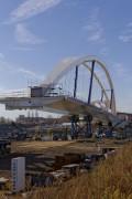 Hier kommt eine Brücke