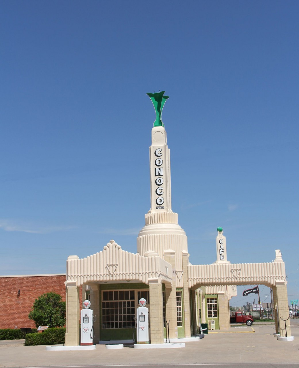 Shamrock Conoco Tower an der Route 66