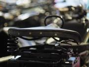 Alter Motorradsitz mit Sprungfedern von ulganapi