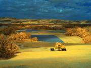 Ausblick in Gelb und Blau von ulganapi