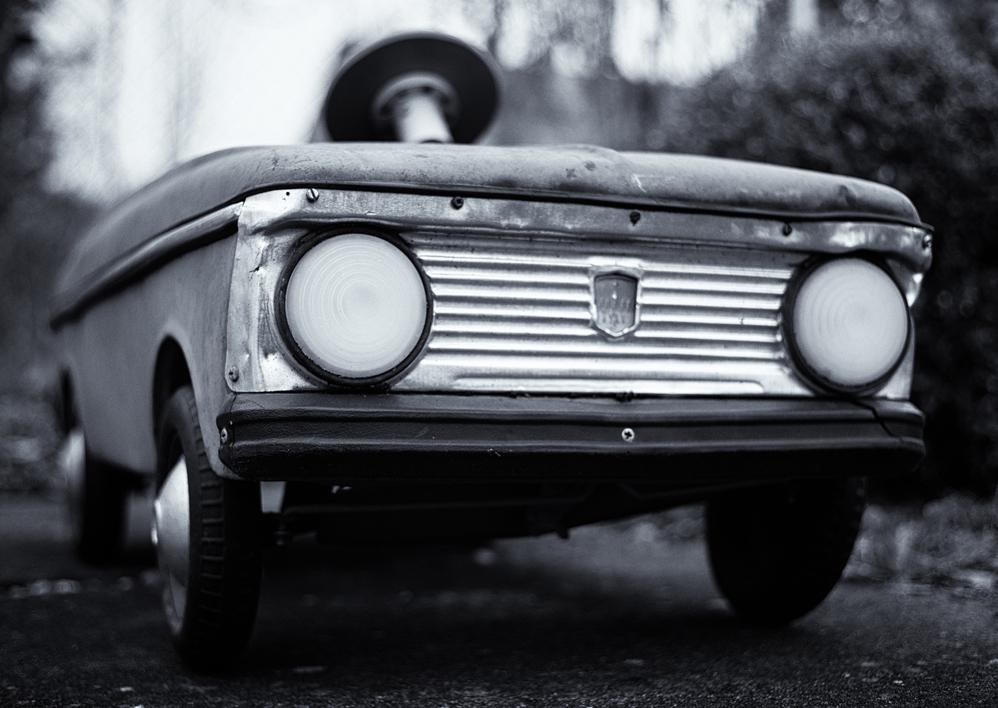Altes Spielzeugauto