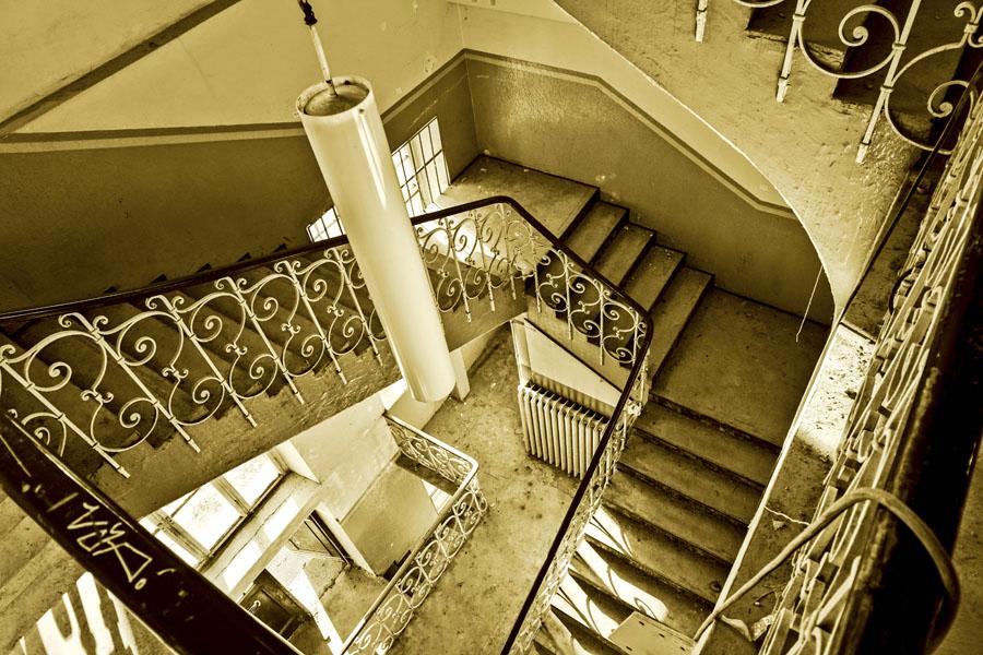 Treppenhaus im Jugendstil erbaut 1906