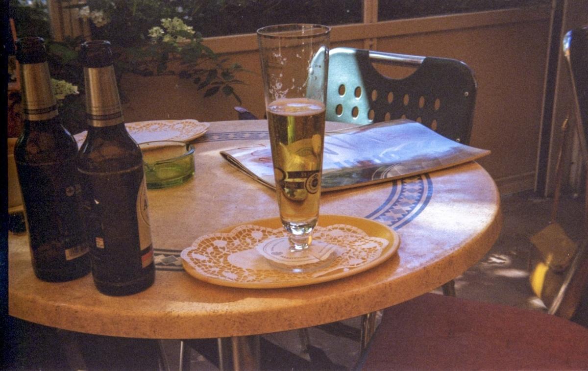 Bier, Sommer, Eiscafé