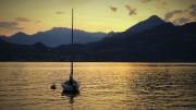 Sonnenuntergang am Comer See von ArtR