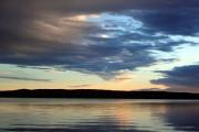 Abendstimmung über dem Glafsfjorden