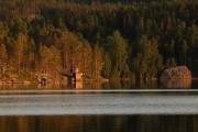 Abendstimmung am Mörtsee in Ramvik