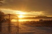 Sonnenuntergang in Warleberg NOK