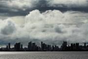 Gewitterwolken über Belem