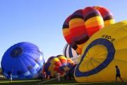 Viele, viele bunte (Heiss-) Luftballons