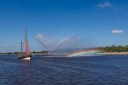 HF244 mit Regenbogen