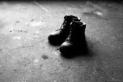 Altes Schuhwerk