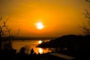 Sonnenuntergang Seeburg