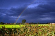Regenbogen über Schlunkendorf