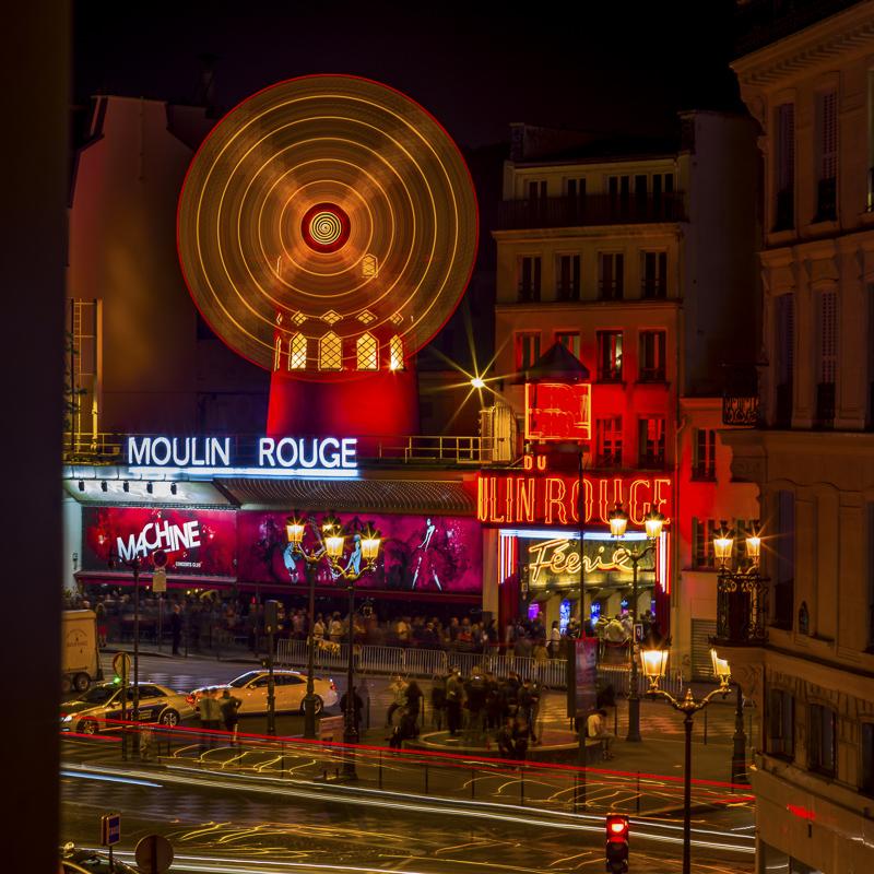 Moulin Rouge; Paris; France