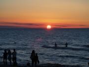 Sonnenuntergang an der Ostsee von JKoch51